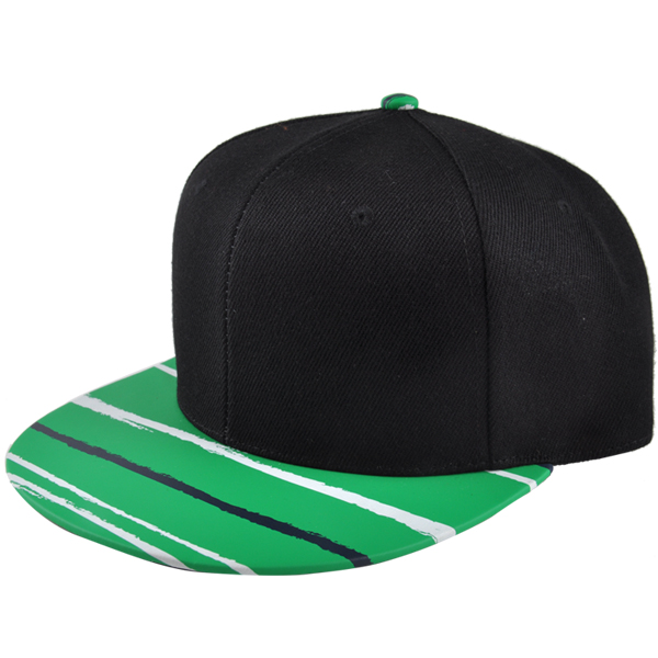 e72dca42 ... best price custom blank snapback cap with pu leather brim cheap snapback  baseball cap everlight trade